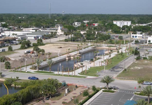 Overview of Downtown Stormwater Park